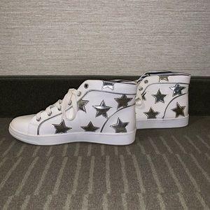 Betsey Johnson Shiny Star Shoes (Size: 8 Women's)